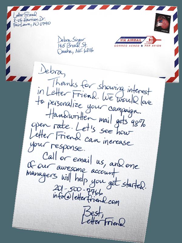 resignation letter envelope cover