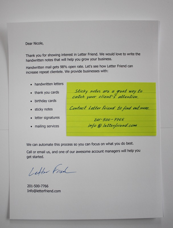 Research Handwritten Direct Mail And Response Rates