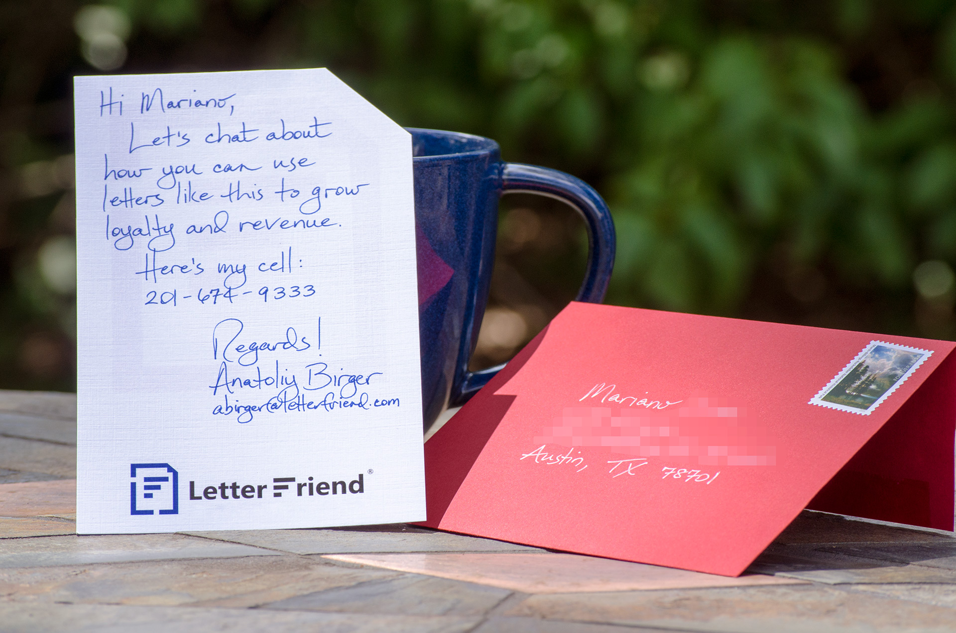 Send Armor Piercing Handwritten Letters From Salesforce
