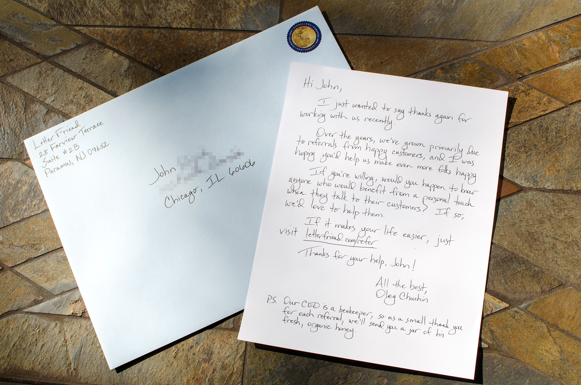 Send Armor-Piercing Handwritten Letters from Salesforce | Letter ...