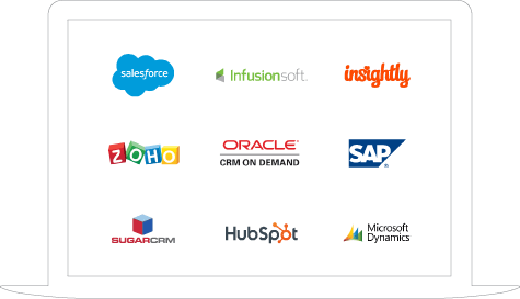 Some of our CRM integrations